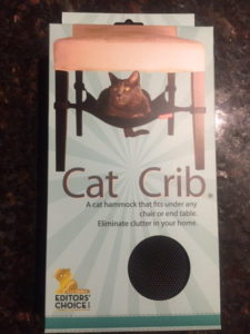 cat crib product packaging